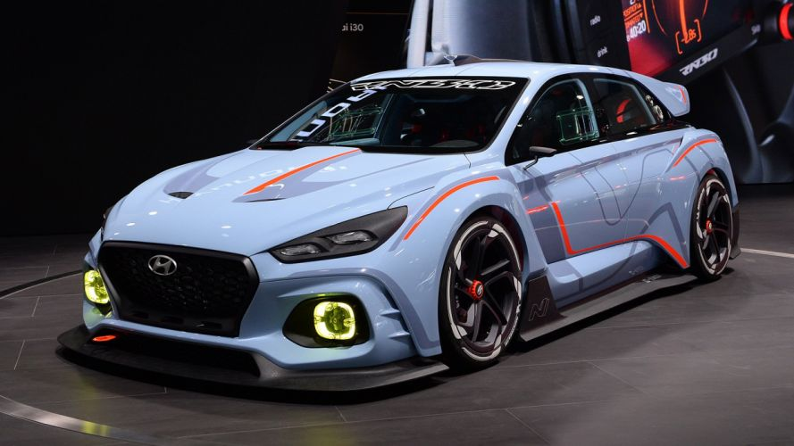 Paris Motor Show 2016 Hyundai RN30 Concept cars wallpaper