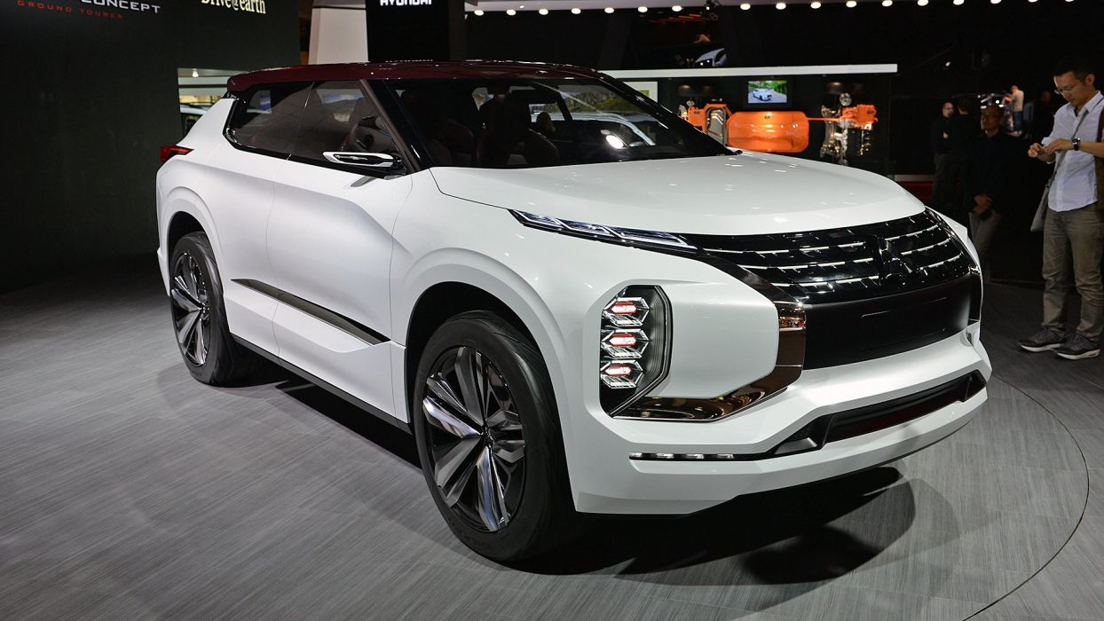 Paris Motor Show 2016 Mitsubishi-GT PHEV Concept cars wallpaper
