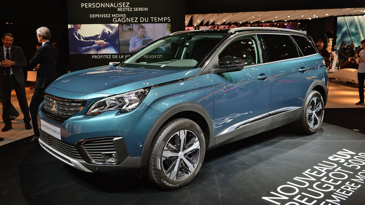 Paris Motor Show 2016 Peugeot 5008 cars suv wallpaper