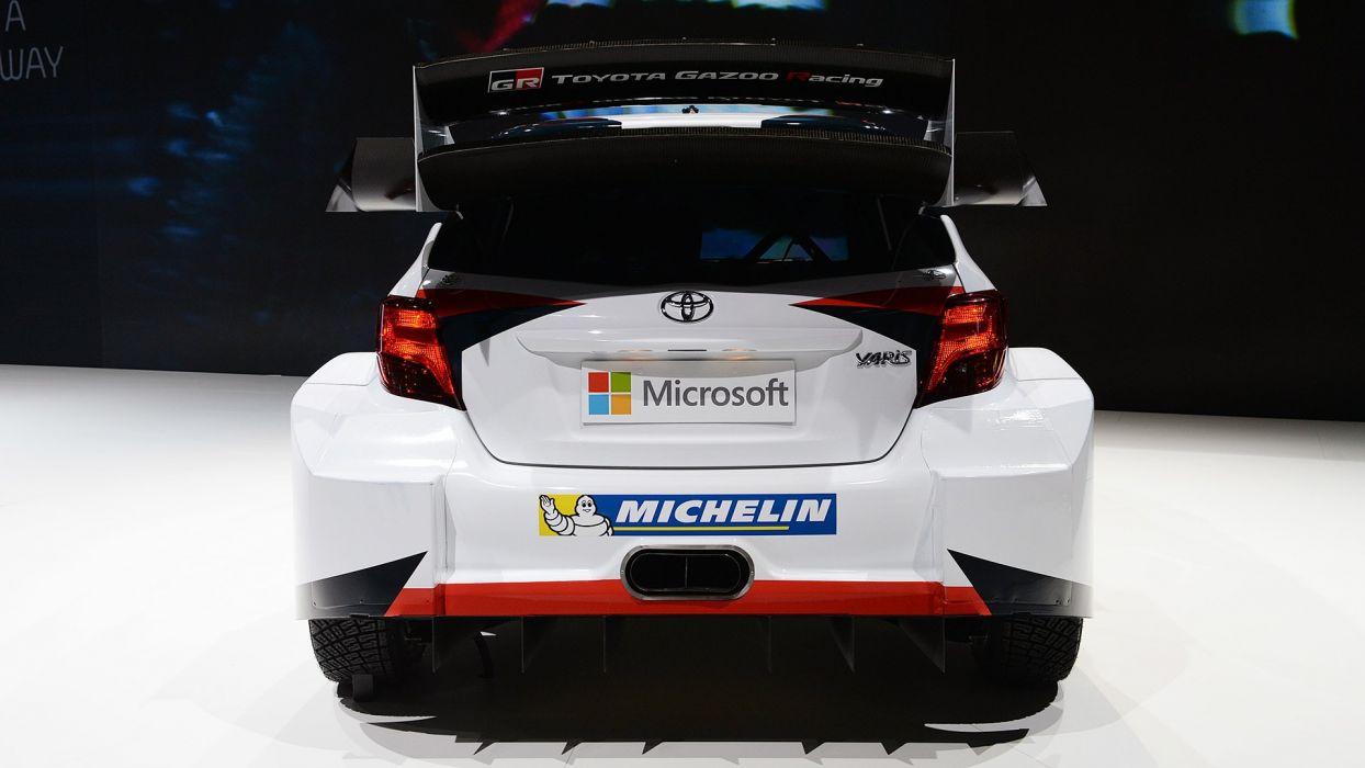 Paris Motor Show 2016 Toyota Yaris WRC cars racecars wallpaper