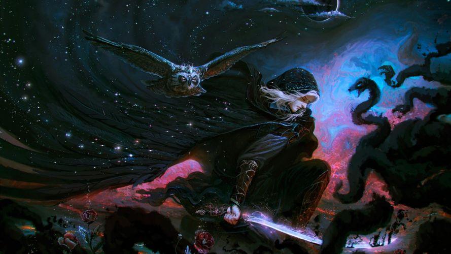 fantasy art artwork magic wallpaper