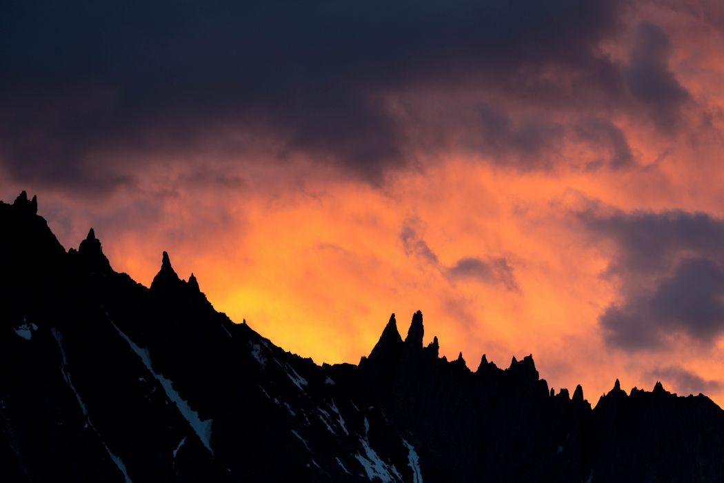 landscape mountains wallpaper