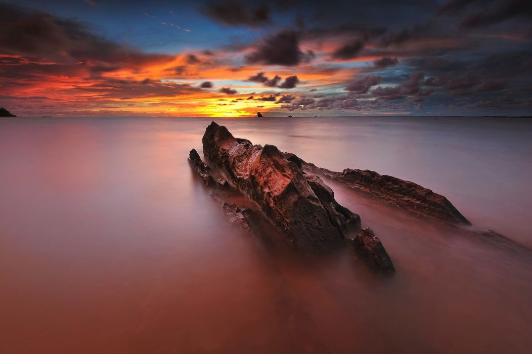 landscape water sea wallpaper