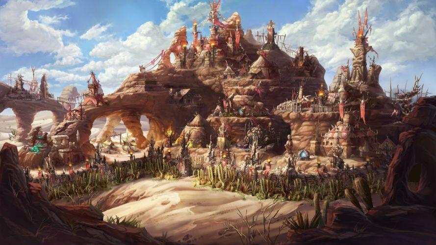 Might & Magic Heroes VII video games fantasy art wallpaper