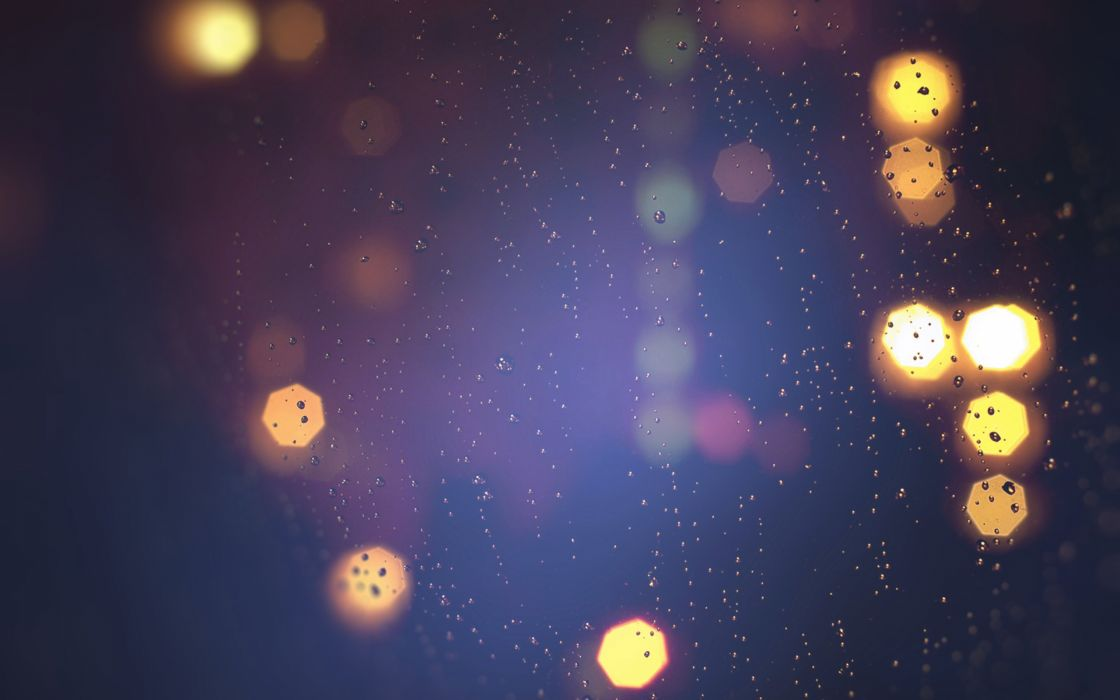 texture rain light night wallpaper