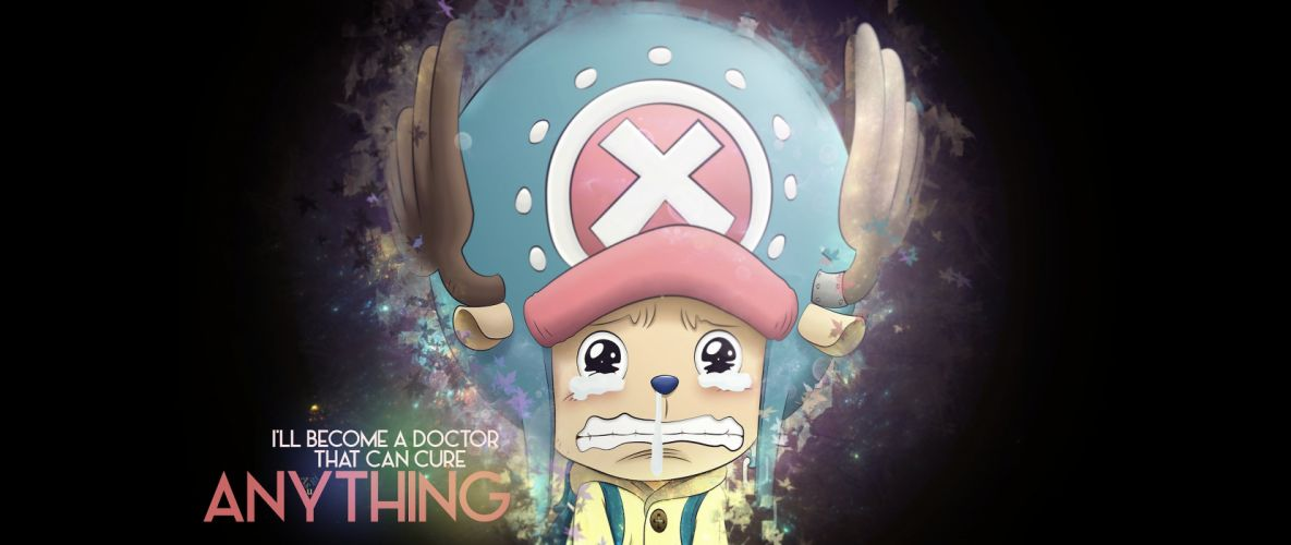 ultra-wide One PieceTony Tony Chopper Monkey D Luffy wallpaper