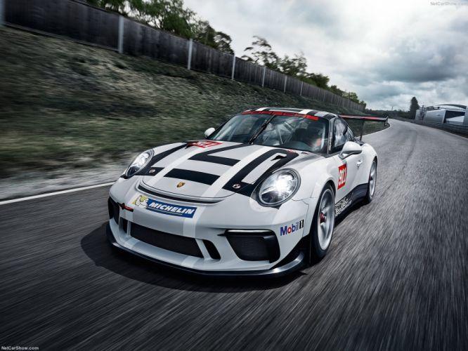 Porsche 911 GT3 Cup cars racecars 2016 wallpaper