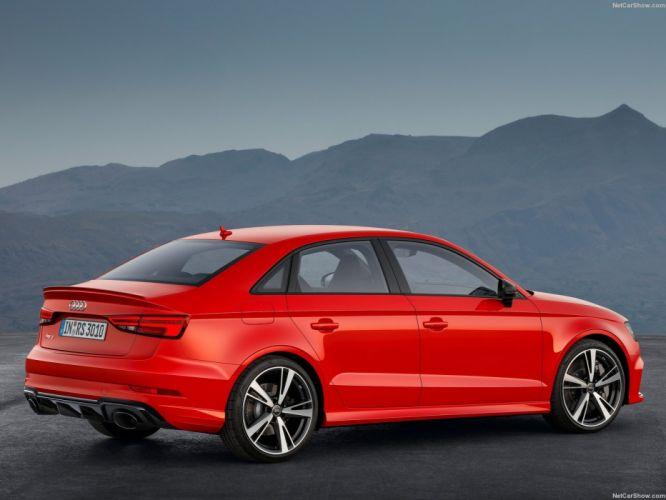 Audi RS3 Sedan cars 2016 wallpaper