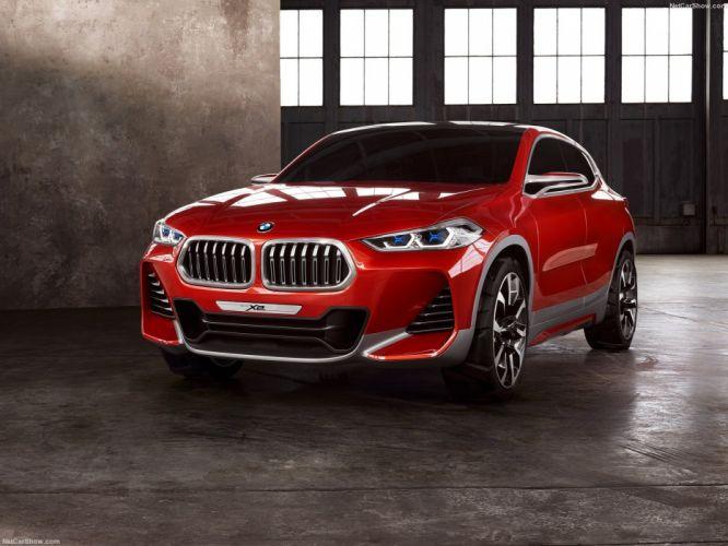 BMW-X2 Concept cars 2016 wallpaper