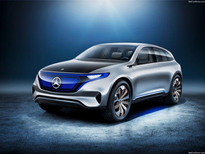 Mercedes Benz Generation-EQ Concept cars 2016 wallpaper