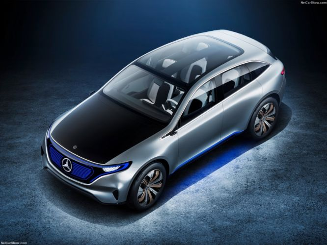 Mercedes Benz Generation-EQ Concept cars 2016 wallpaper