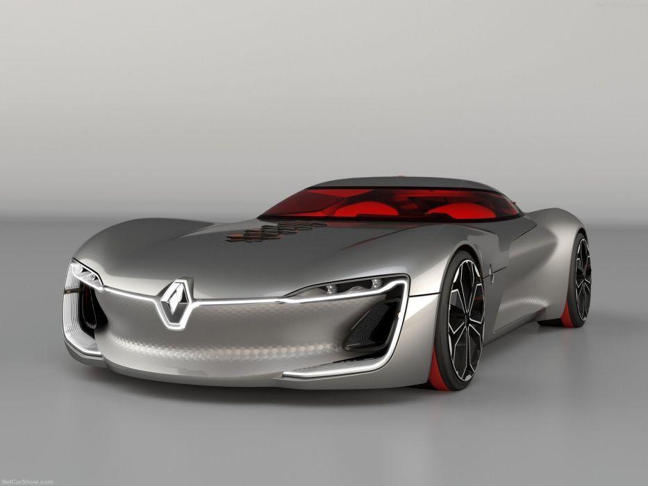 Renault Trezor Concept cars 2016 wallpaper
