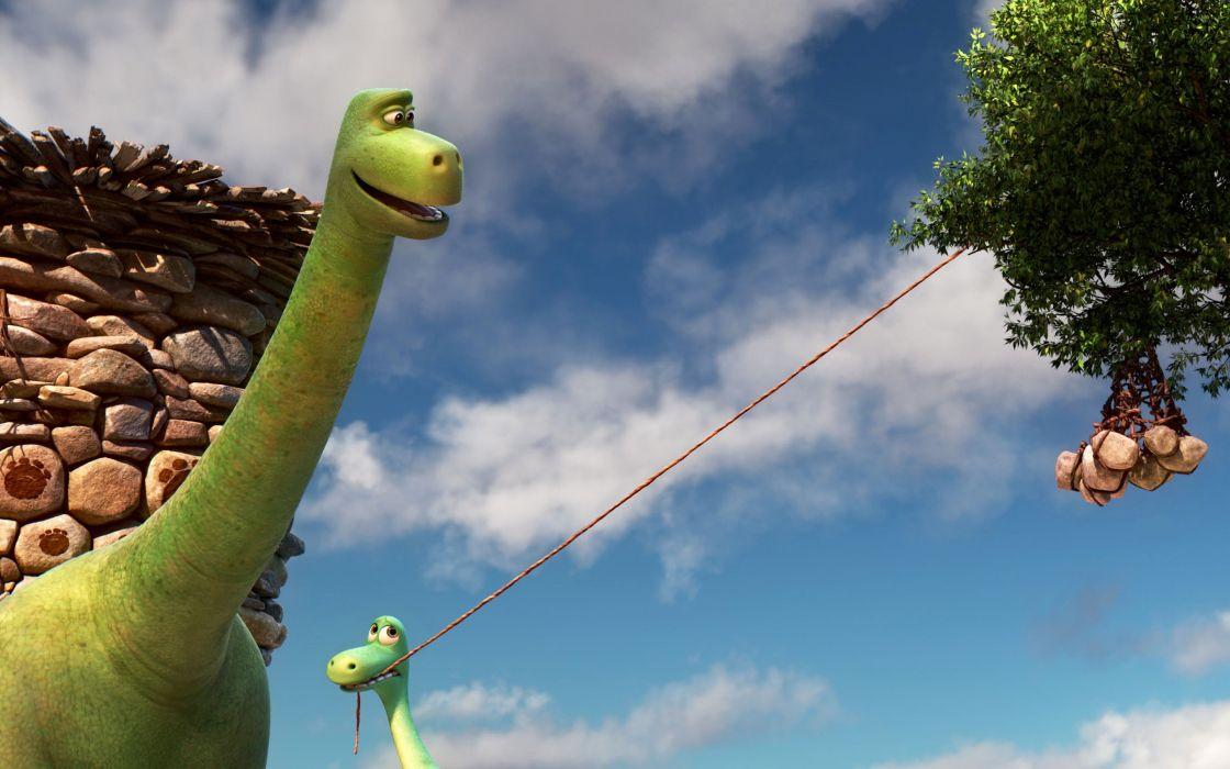 el viaje de arlo pelicula infantil dibujos animados wallpaper