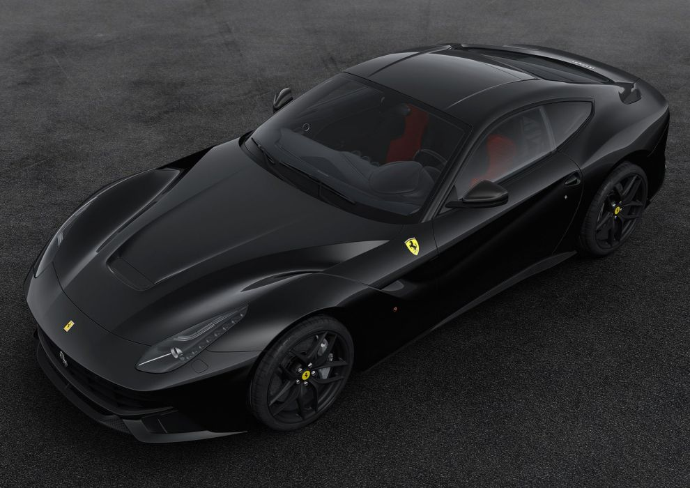 2016 Ferrari F12 Berlinetta 70th anniversary cars edition ferrari motor paris show cars 2+2 wallpaper
