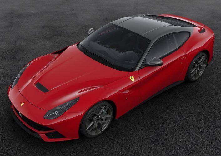 2016 Ferrari F12 Berlinetta 70th anniversary cars edition ferrari motor paris show cars 2+2 wallpaper
