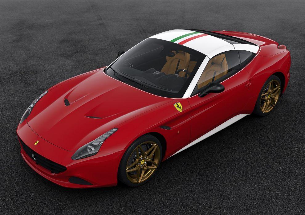 2016 Ferrari CALIFORNIA-T 70th anniversary cars edition ferrari motor paris show cars wallpaper
