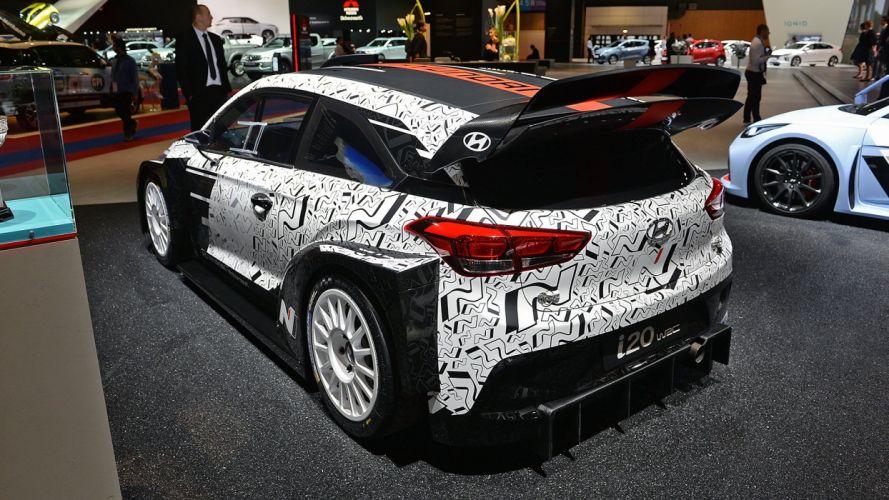 Paris Motor Show 2016 Hyundai i20 WRC cars racecars wallpaper