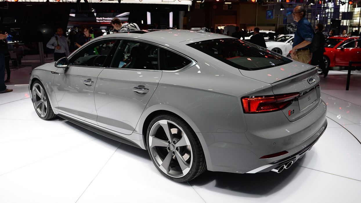 Paris Motor Show 2016 Audi-S5 Sportback cars wallpaper