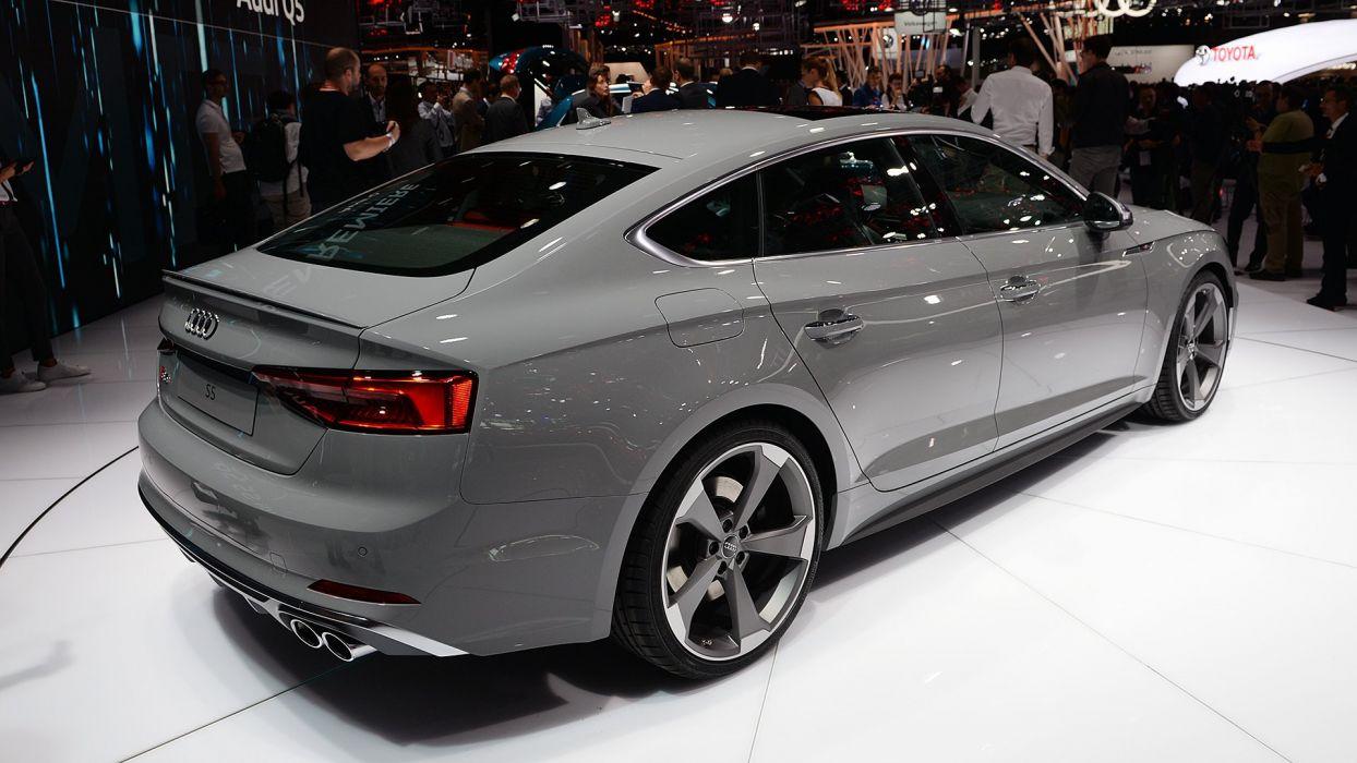 Paris Motor Show 2016 Audi-S5 Sportback cars wallpaper