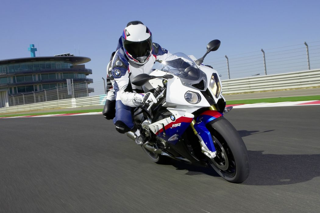 BMW S-1000-RR motorcycles 2009 wallpaper