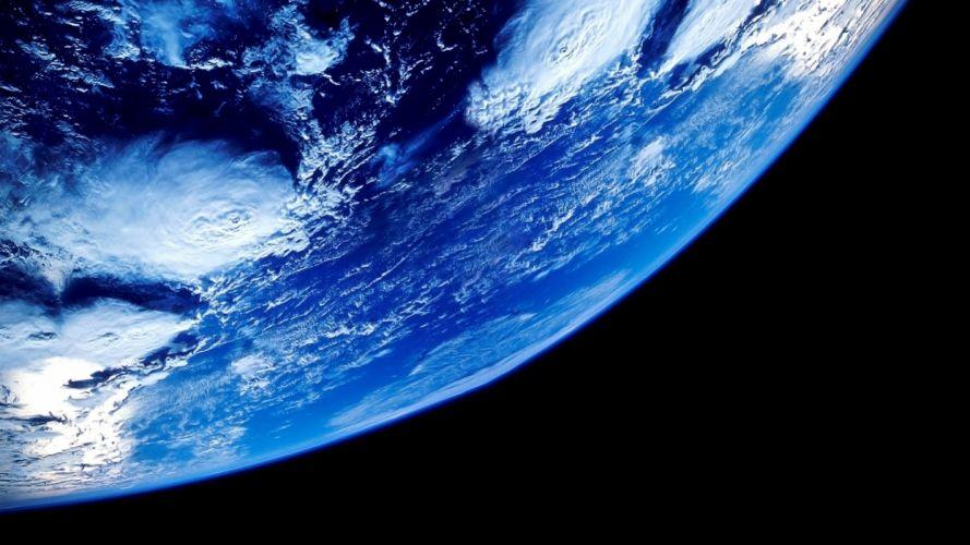 Earth space blue amazing beauty wallpaper