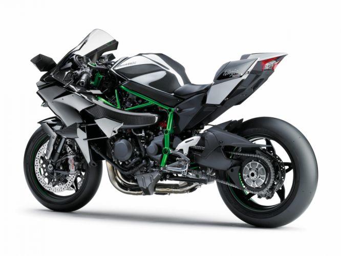Kawasaki Ninja H2R motorcycles 2015 wallpaper