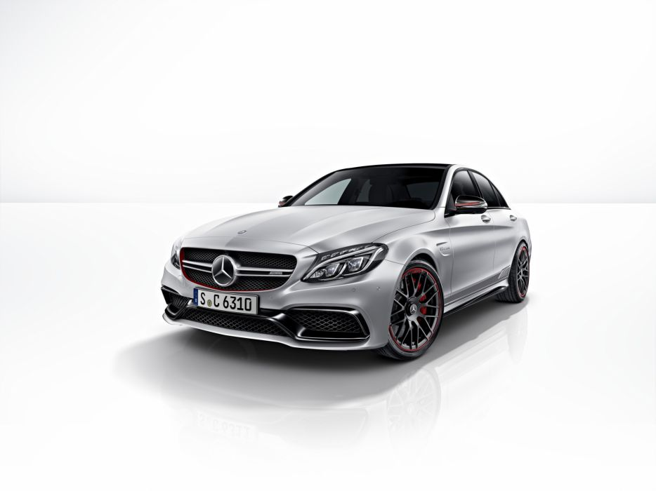 Mercedes-Benz AMG C 63S Edition 1 2014 wallpaper