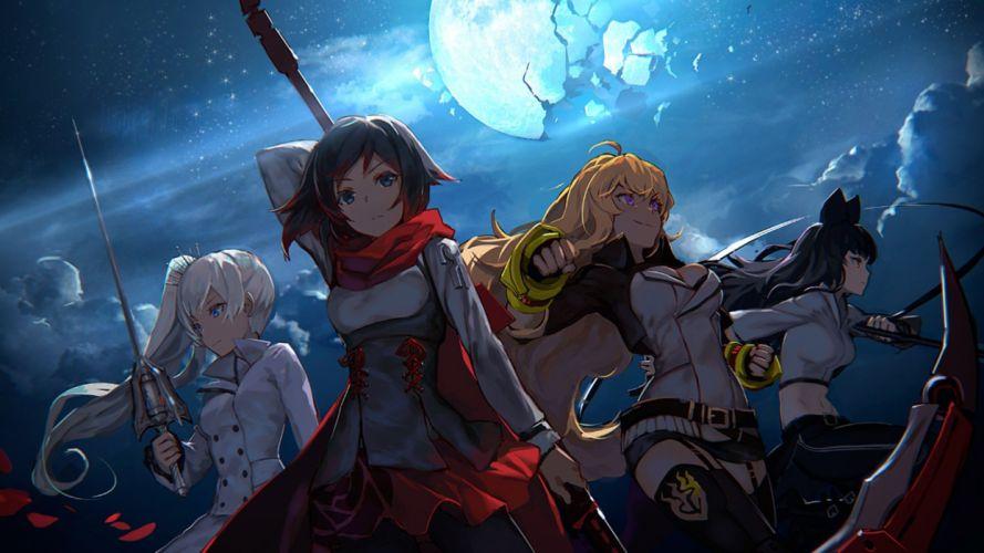 anime girls beautiful cute wallpaper