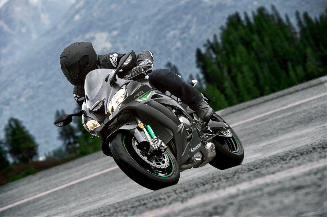 Kawasaki Ninja ZX-10R motorcycles 2016 wallpaper