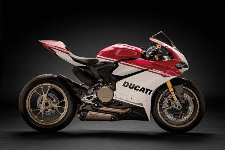 Ducati 1299 Panigale-S Anniversario motorcycles 2016 wallpaper
