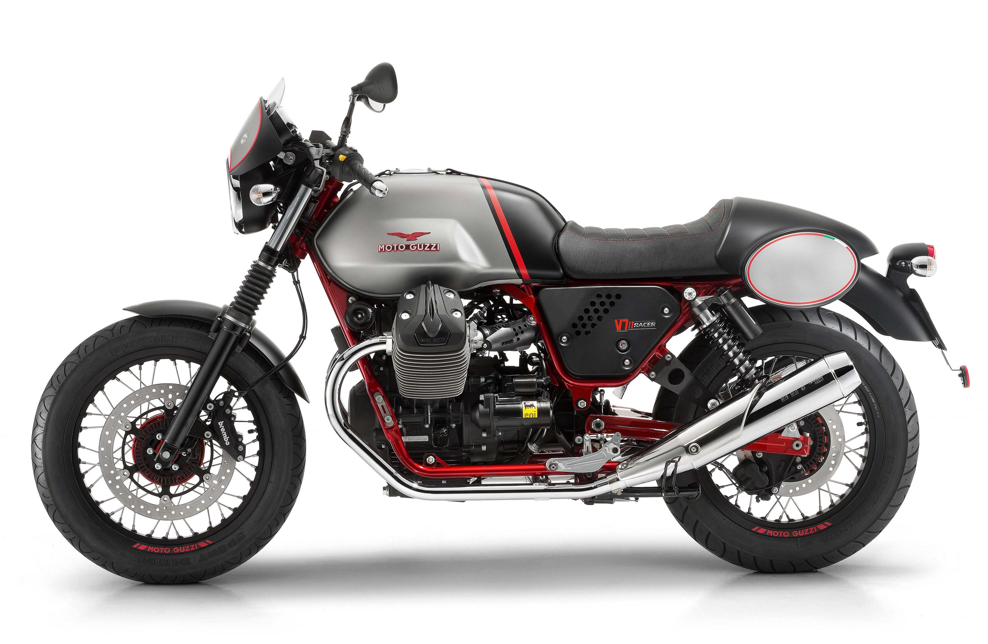 Moto Guzzi V7-II Racer Motorcycles 2014 Wallpaper