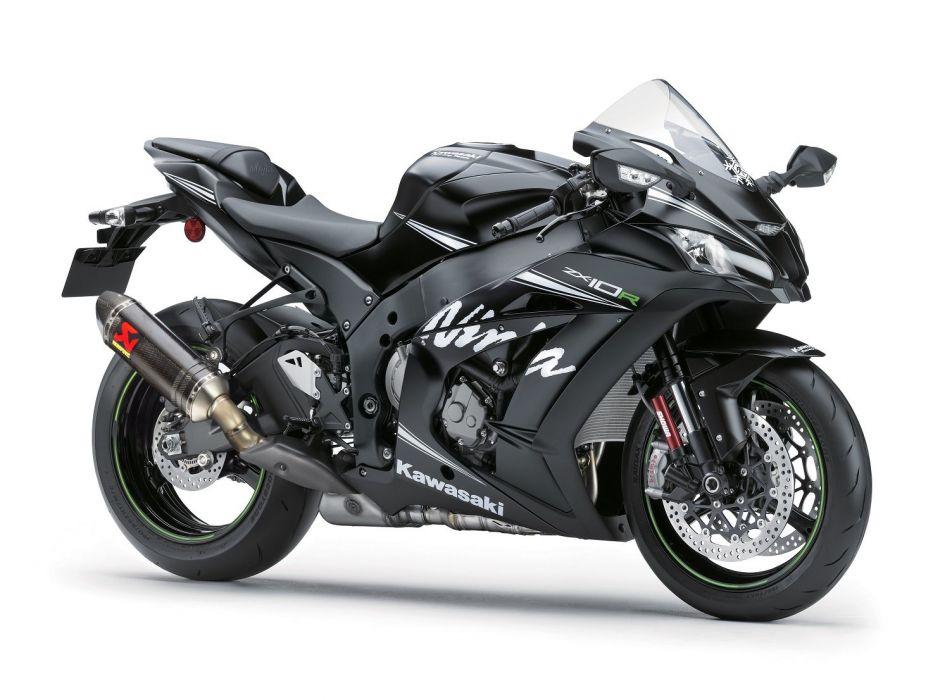 Kawasaki Ninja ZX-10R Winter Test Edition motorcycles 2016 wallpaper