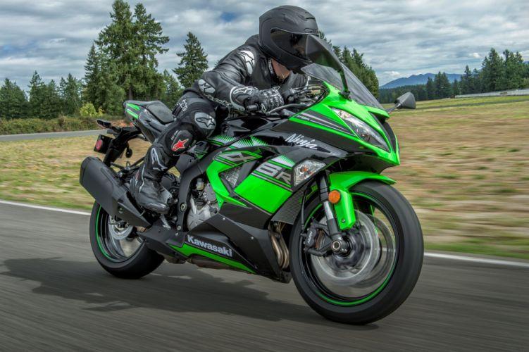 Kawasaki Ninja ZX-6R KRT Edition motorcycles 2016 wallpaper