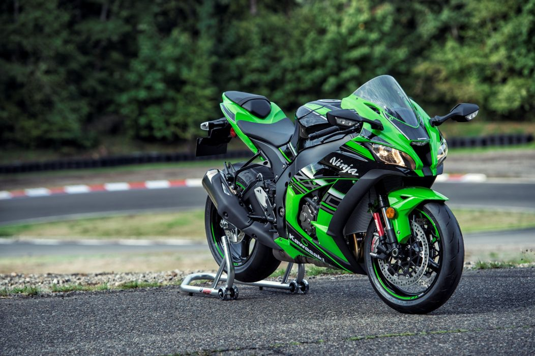 Kawasaki Ninja ZX 10R KRT Edition Motorcycles 2016 Wallpaper