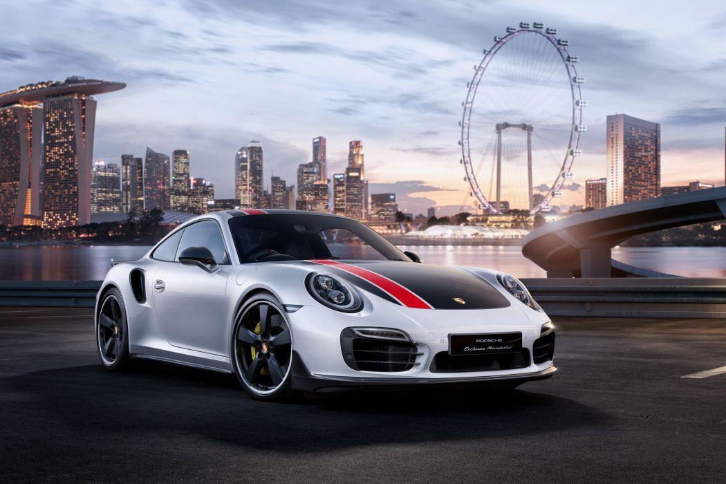 Porsche 911 Turbo S Coupe SG50 Custom-built for Singapore 2015 wallpaper