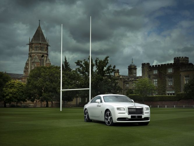 Rolls-Royce Wraith History of Rugby 2015 wallpaper