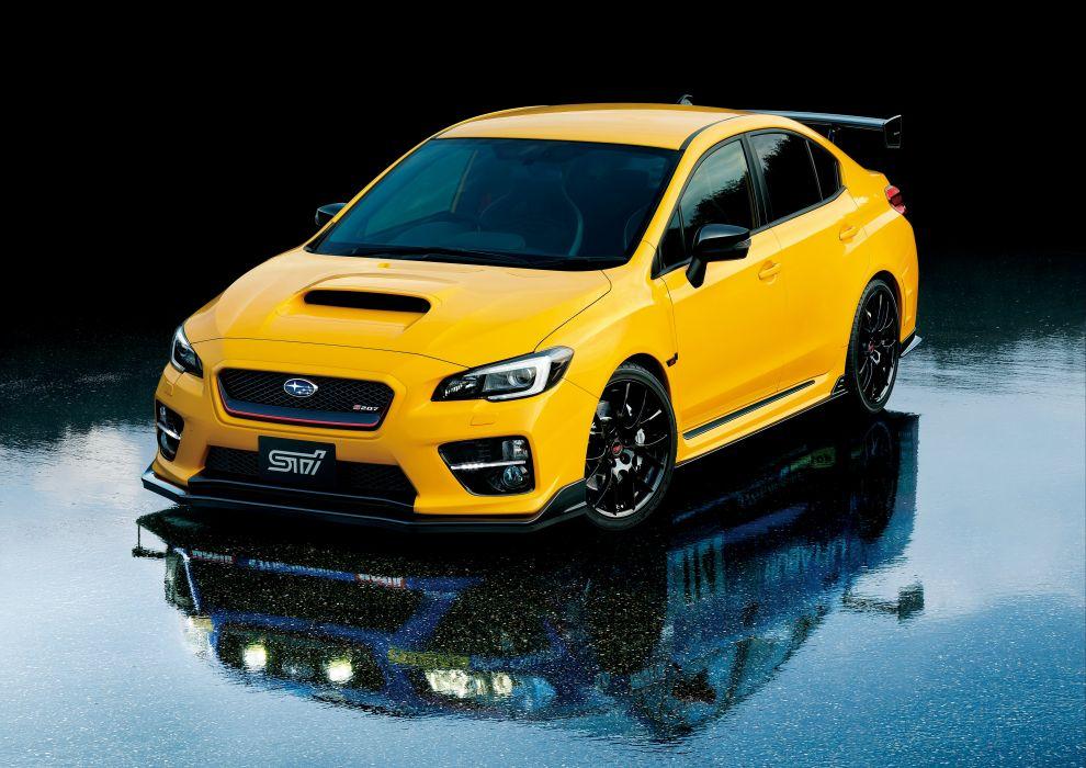 Subaru WRX STI S207 NBR Challenge Package Yellow Edition 2015 wallpaper