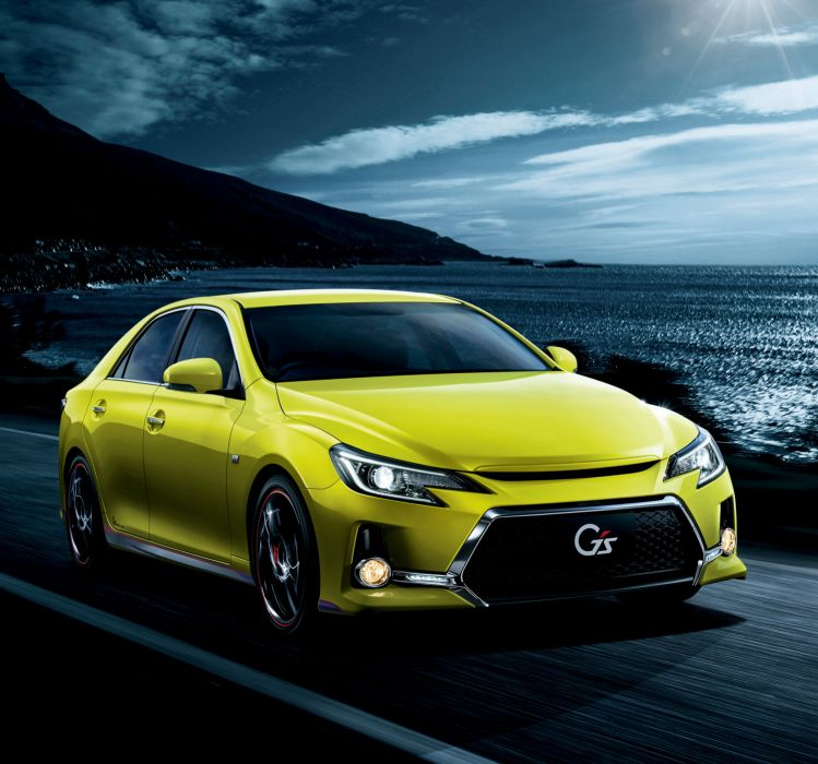 Toyota Mark X 350S G's Yellow Label 2015 wallpaper