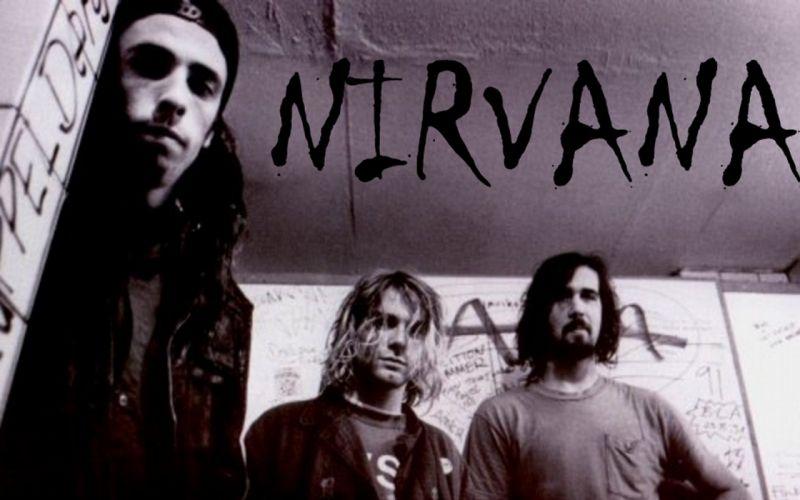 nirvana rock banda wallpaper