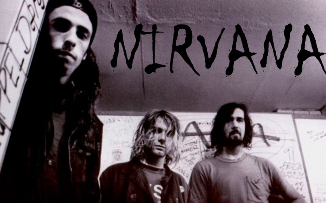 nirvana rock banda wallpaper