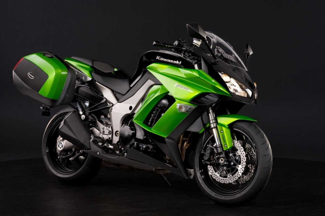 Kawasaki Z1000SX Tourer motorcycles 2011 wallpaper