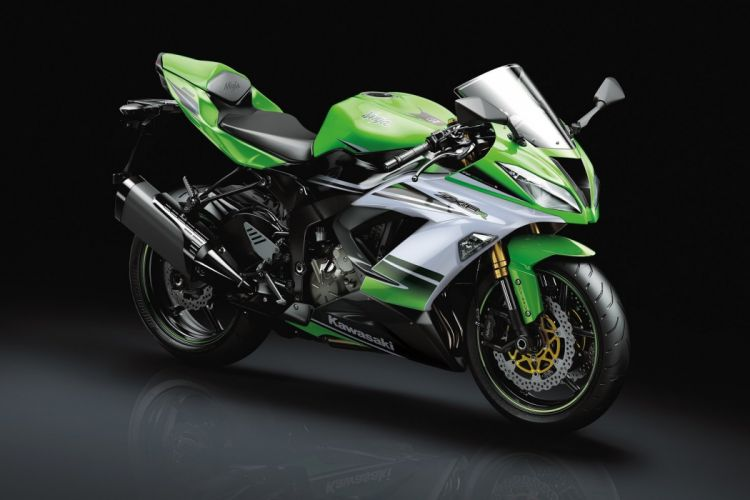 Kawasaki Ninja ZX-6R 636 30th Anniversary Edition motorcycles 2015 wallpaper