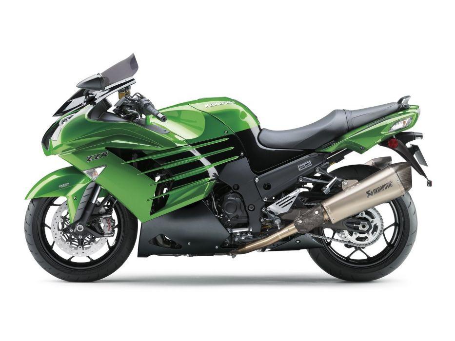 Kawasaki Ninja ZZR-1400 Performance Sport motorcycles 2012 wallpaper