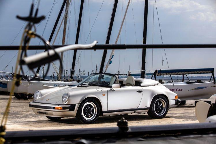 Porsche 911 Carrera Speedster cars 1989 wallpaper