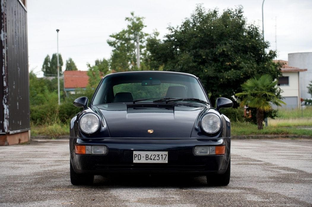 Porsche 911 Turbo (3 6) Coupe (964) cars 1992 wallpaper