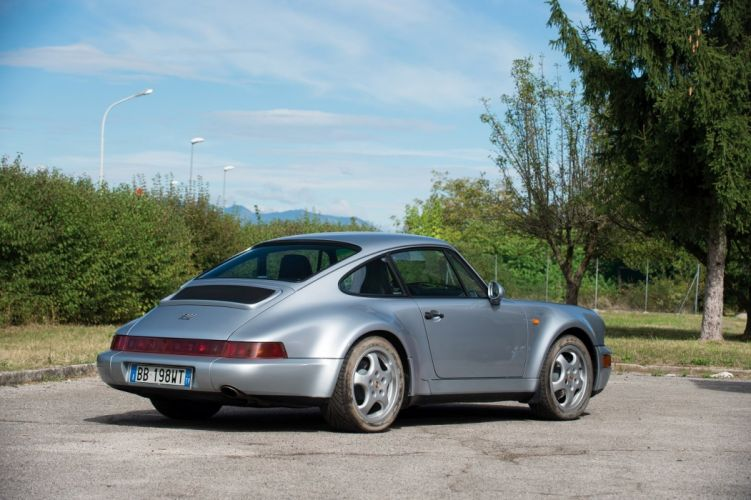 orsche 911 Carrera-4 Coupe Turbolook 30-Jahre 911 (964) cars 1993 wallpaper