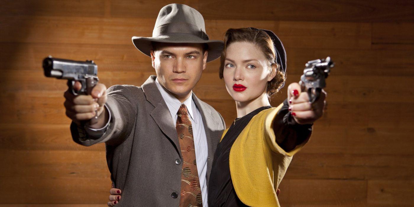 -bonnie and clyde serie tv drama accion wallpaper