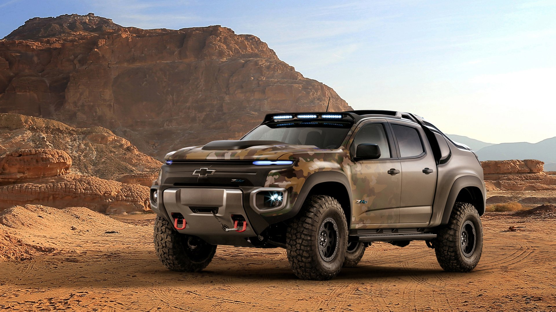 Chevrolet Colorado Zh Truck Pickup Wallpaper With Chevy Trucks Jacked Up