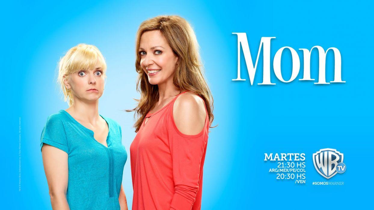 mom serie tv americana wallpaper