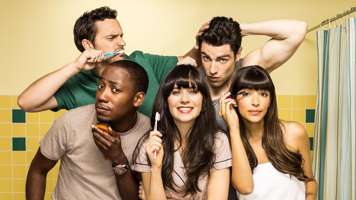 new girl serie tv americana wallpaper